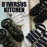 【SALE】メンズ ベルクロサンダル (6STRAP VELCRO ACTIVE SANDAL)/D'IVERSUS KITCHEN (ディバーサス キッチン)