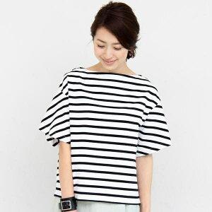 松嶋菜々子さん7話衣装 ボーダーのTシャツ