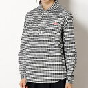 【DANTON】長袖丸襟ポケット付プルオーバーシャツ/ビショップ レディース(Bshop)【10P03Dec16】