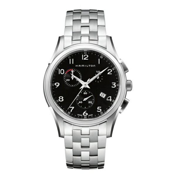 メンズ時計(ジャスマスター シンライン クロノ【型番:H39612133】)/ハミルトン(HAMILTON) ジャスマスター シンライン クロノ