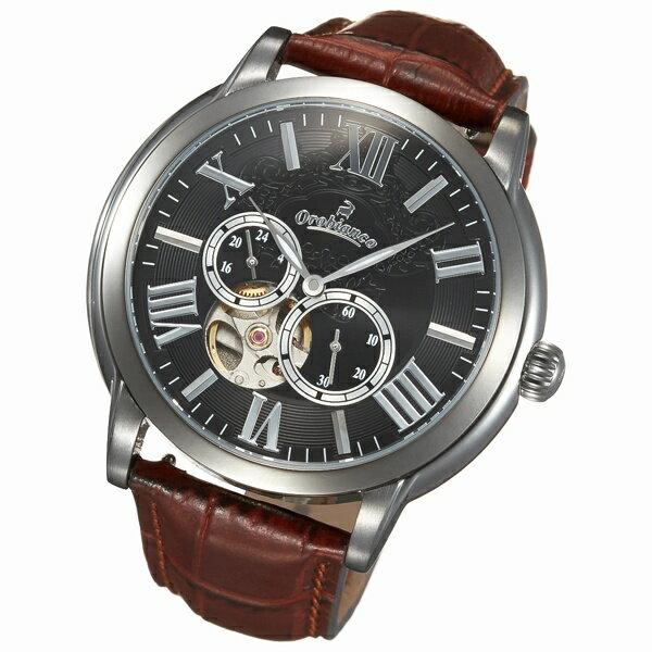 メンズ時計(ROMANTIKO【型番:OR-0035-3】)/オロビアンコ・タイムオラ(Orobianco TIMEORA)【メンズ腕時計】 人気の自動巻きモデルから新たにNEWモデルが登場!すばらしいです