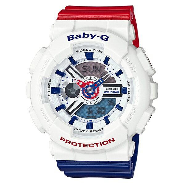 White Tricolor Series/ベビーG(Baby-G) White Tricolor Seriesセイコー 腕時計 ソーラー 電波 時計