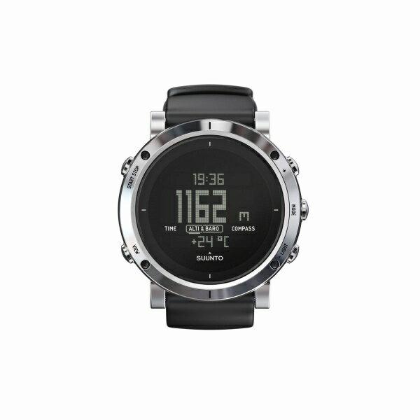 ユニセックス時計(CORE BRUSHEDSTEEL高度計・気圧計・電子コンパス/スント(suunto) SUUNTOのユニセックス時計