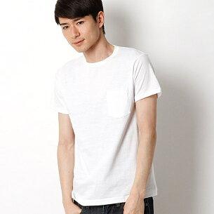 ヘインズプレミアムジャパンフィット Tシャツ ポケット ヘインズ