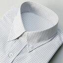 【アウトレット 〜3/20】半袖ラクチンすっきりシャツ(クールマックスRファブリック)/ビサルノ(VISARUNO)