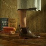 ブーツ(ウイングチップトゥレザーサイドゴアブーツ)/ヨースケ(YOYOブランド)(YOSUKE YOYO Brand)【dl】0101marui