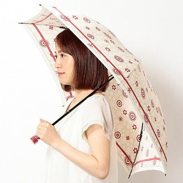 雨傘(折りたたみ/ミニ)花柄(レディース)/ミラ・ショーン(雑貨)(mila schon)【0509P5】 【NEW】雨傘(折りたたみ/ミニ)花柄(レディース)