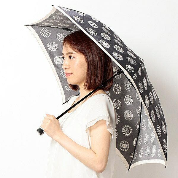 雨傘(折りたたみ/ミニ)花柄(レディース)/ミラ・ショーン(雑貨)(mila schon) カサ/ミラ・ショーン