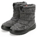 【0112_0131】THE NORTH FACE/防水ウールブーツ/NUPTSE BOOTIE WP WOOL LUXE/ザ・ノース・フェイス(THE NORTH FACE)