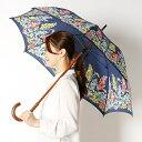 ショッピングキャスキッドソン 雨傘(長傘/手開き)花柄/木棒(婦人/レディース)/キャスキッドソン(Cath Kidoson)