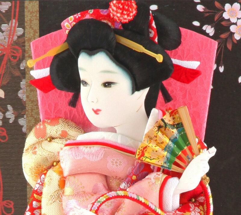 羽子板 久月 初正月 ケース飾り 春彩 8号 ...の紹介画像3