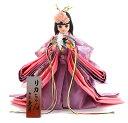 雛人形 久月 ひな人形 リカちゃん 立雛 単品 (紫) シリアル入 限定品 雛人形 【2014年度新作】 h263-ri-10-j