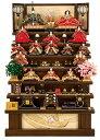 【早割】雛人形 平安豊久 ひな人形 雛 七段飾り 十五人飾り 彩麗 七番親王 小十番十三人揃 焼桐 【2021年度新作】 h033-mo-301205 HF-062 ひな祭