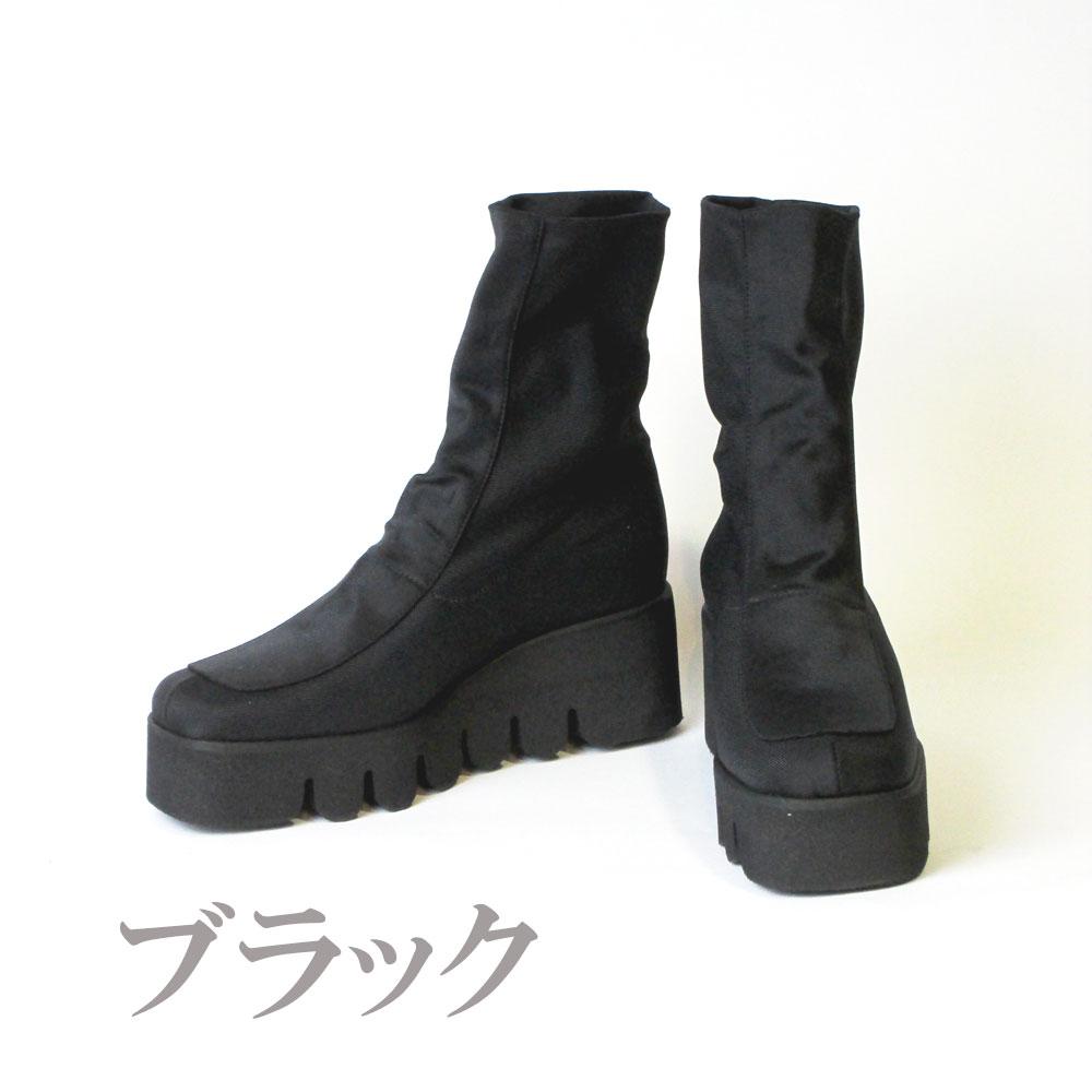 ストレッチブーツ・アンジェラ(ブラック)