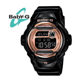 The CASIO (Casio) BABY-G (ベビージー) Lady's / kids watch BG169G-1/BG-169G-1 black pink gold same model: BG-169G-1JF