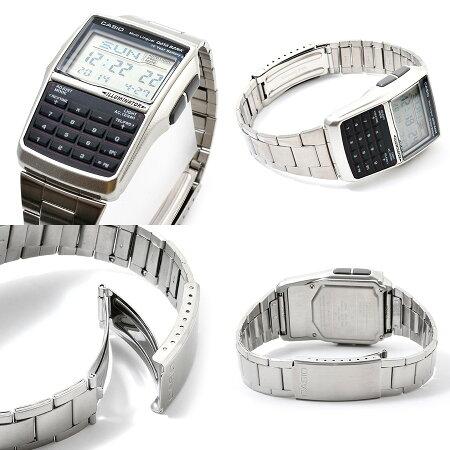 【到着後レビューを書いて送料無料】【2年保証】DATABANK(データバンク)CASIO(カシオ)腕時計おしゃれアイテムとしてリバイバルブームが再燃!電話帳計算機ほか高性能多機能モデル「DBC-32D-1A/DBC32D-1A(シルバー)」が登場!【あす楽かっこいいレトロ男女兼用】