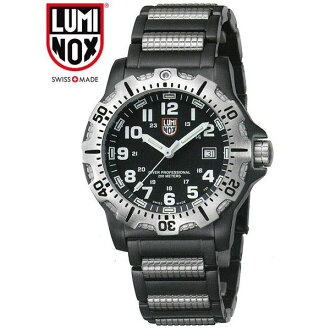8252 LUMINOX (Lumi Knox) men's watch NAVY SEALS EVOLUTION (navy Shields evolution) silver
