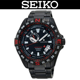 SEIKO SUPERIOR / EMERGENCY DISTRESS SIGNAL CODE / MEN'S WATCH / 500-LIMITED / SSA113J1 / AUTOMATIC MOVEMENT / BLACK× RED / MADE IN JAPAN