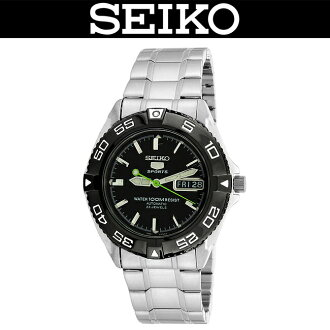 SEIKO 5 SPORTS / MEN'S WATCH / SNZB23J1 / SNZB-23J1 / AUTOMATIC MOVEMENT / SILVER×BLACK