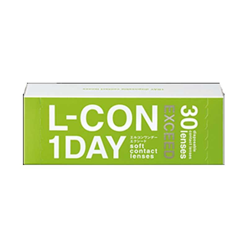 (2箱セット)エルコンワンデーエクシード ≪ 2SET ≫ 【 L-CON 1DAY EXCEED 】 2セット コンタクト レンズ 度あり 30枚入 【EXCEED】 1日使用 × 30枚入 1DAY× 30P シンシア 透明 度あり コンタクト エルコンワンデー L-con