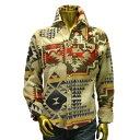 Rockmount - Western Shirt (SP610) [ロックマウント] ウェスタン シャツ / メンズ / 長袖シャツ / TAN / Rockmount Ranch Wear / ロ..