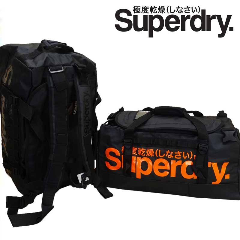 あす楽【30%OFF】Superdry.極度乾燥(しなさい) スーパードライ TARP SMALL RUCKSACK/BOSTON BAG/BACK PACK/3WAY ボストンバッグ/リュックサック/バックパック UB9BD137