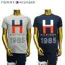 【あす楽】 TOMMY HILFIGER / CREW TEE / T-SHIRT / トミー ヒルフィガー / Tシャツ / 09T3340
