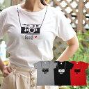 【カメラTシャツ】 愛犬とペアルックもできる♪ Tシャツ 名...