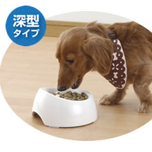 [リッチェル]Richell 犬用 食べやすい食器 S 深型 (犬用の食器) #50021