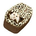 【あす楽】[キャティーマン]CattyMan ネコボックスベッド ショコラ 4976555949964 #w-152856