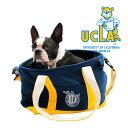 【最大350円オフクーポン】UCLA カレッジ トートバッグ ボストンバッグ ブラック/UCLA DOG CARRY TOTE BAG