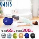 バランスボール 65cm 【耐荷重300kg】(レッスンDV...