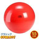 ギムニク バランスボール 直径 55cm (赤)【送料無料】