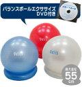 フィットネスクラブがつくったバランスボール55cmスタートパック(DVD付)【税込・送料無料】【2010_2_health】