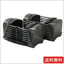 パワーブロック SP50(23kg×2)可変式ダンベル 2個セット ダンベルセット ウェイトトレーニング 筋トレ グッズ 【送料無料】
