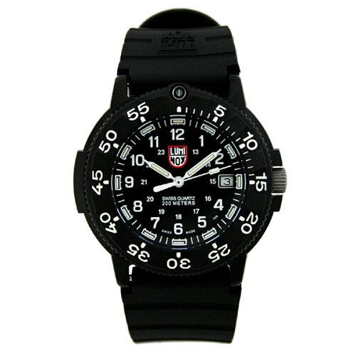 ルミノックスLUMINOX腕時計ネイビーシール3001#1185