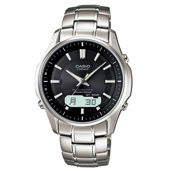 カシオ リニエージ LINEAGE ソーラー電波 LCW-M100D-1A3JF [国内正規品] メンズ 腕時計 時計 [10年長期保証付][送料無料][ギフト用ラッピング袋付]