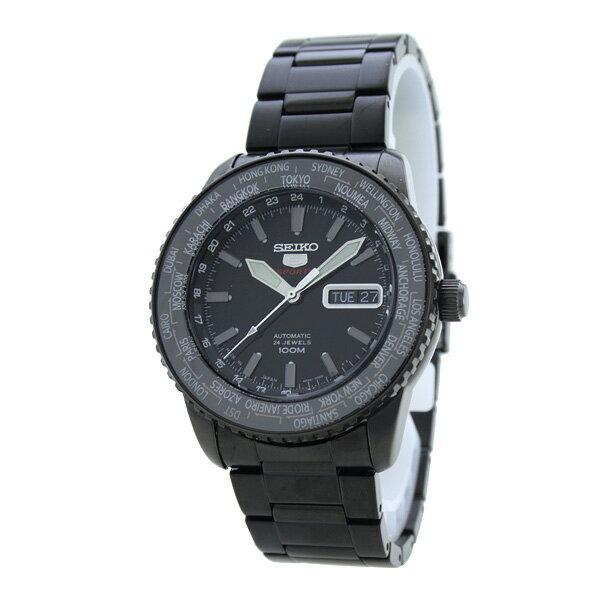 セイコー5 逆輸入モデル SEIKO5 100m防水 機械式(自動巻き) SRP129J1 [海外輸入品] メンズ 腕時計 時計 [3年長期保証付][送料無料][ギフト用ラッピング袋付][P_10]簡単操作(簡単操作)
