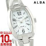 セイコー アルバ SEIKO ALBA アンジェーヌ ingenu AHJD061 レディース 腕時計 ホワイト #103018【wccp】