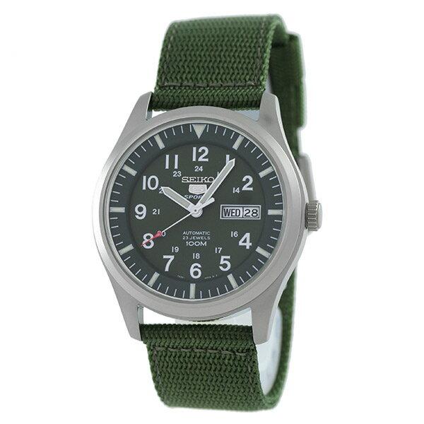 セイコー5 逆輸入モデル SEIKO5 5スポーツ 100m防水 機械式(自動巻き) SNZG09K1 [海外輸入品] メンズ 腕時計 時計 [3年長期保証付][送料無料][ギフト用ラッピング袋付][P_10]生きているような