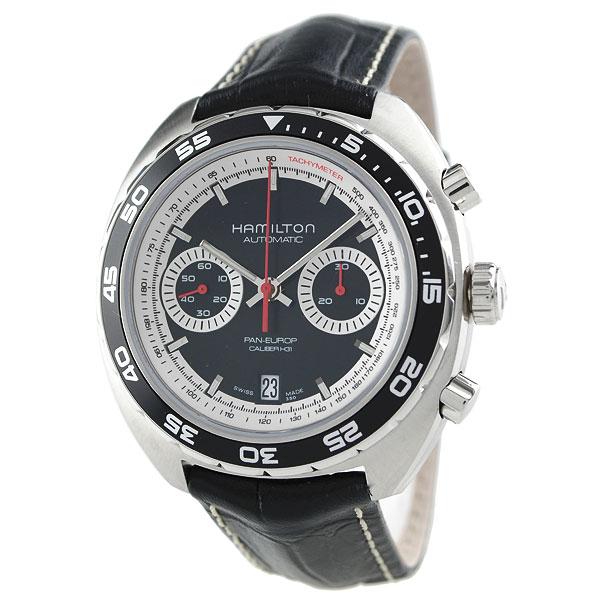 【ショッピングローン12回金利0%】ハミルトン HAMILTON パンユーロ H35756735 [海外輸入品] メンズ 腕時計 時計 [3年長期保証付][送料無料][ギフト用ラッピング袋付][P_10]