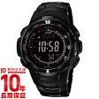 カシオ プロトレック PROTRECK ブラックチタンリミテッド ソーラー電波 PRW-3000YT-1JF メンズ腕時計 時計(予約受付中)