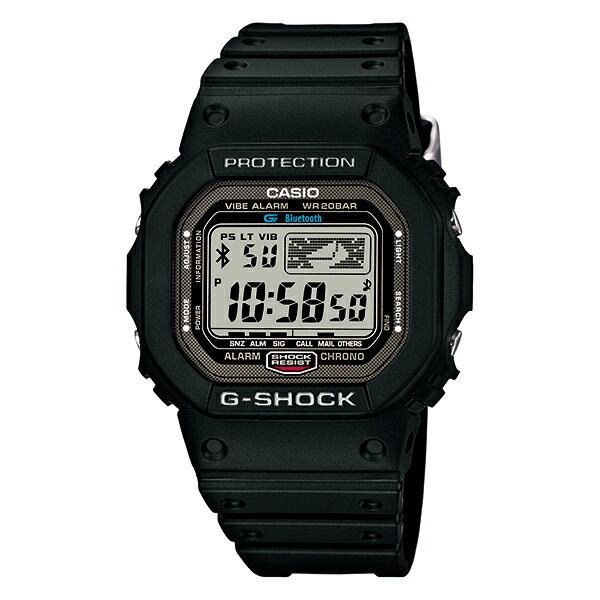 カシオ LUMINOX Gショック G-SHOCK Bluetooth通信機能付き スマートフォンリンクモデル CITIZEN GB-5600B-1JF [正規品] メンズ 時計 腕時計 時計(予約受付中):腕時計本舗 [10年保証付][ギフト用ラッピング袋付][メッセージカード付]