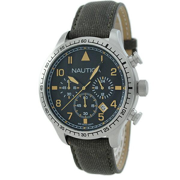 ノーティカ NAUTICA BFD105 クロノグラフ A16579G [国内正規品] メンズ 腕時計 時計 [10年長期保証付][送料無料][腕時計ケア用品 マルチクロス付][ギフト用ラッピング袋付][P_10]