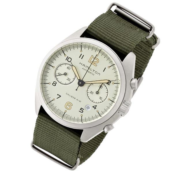【ショッピングローン12回金利0%】ハミルトン カーキ HAMILTON パイロットパイオニアオートクロノ H76456955 [海外輸入品] メンズ 腕時計 時計 [3年長期保証付][送料無料][ギフト用ラッピング袋付][P_10]