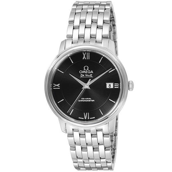 【ショッピングローン12回金利0%】オメガ デビル OMEGA プレステージ 424.10.37.20.01.001 [海外輸入品] メンズ 腕時計 時計 [送料無料][ギフト用ラッピング袋付][P_10]