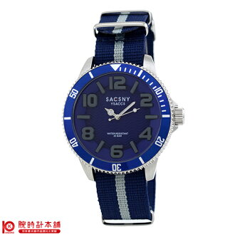Sakusneaysack SACCSNYY'SACCS SYA-15105-BLGY men's watch watches