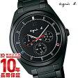 【アニエスベー】 agnesb マルセイユ クロノグラフ ソーラー FBRD976 メンズ 腕時計 時計 正規品