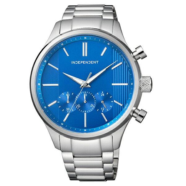 インディペンデント INDEPENDENT Timeless Line クロノグラフ BR3-113-71 [正規品] メンズ 腕時計 時計 [10年保証付][腕時計ケア用品 マルチクロス付][ギフト用ラッピング袋付]【有効】