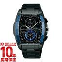 セイコー ワイアード SEIKO WIRED クオーツ AGAV106 メンズ 腕時計 ブラック 福士蒼汰イメージキャラクター #127722【あす楽】【きょうつく】
